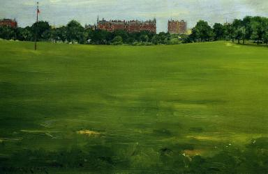 The Common, Central Park, William Merritt Chase (1898, American)