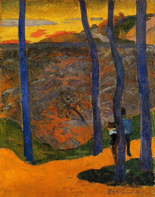 Blue Trees, Paul Gauguin (1888)