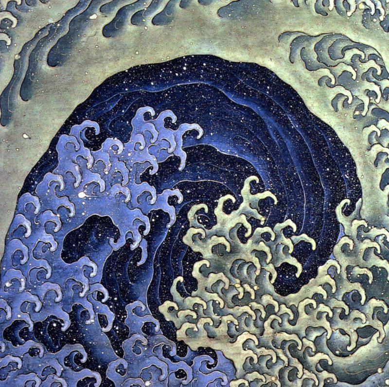 Feminine Wave, Katsushika Hokusai (19th century)