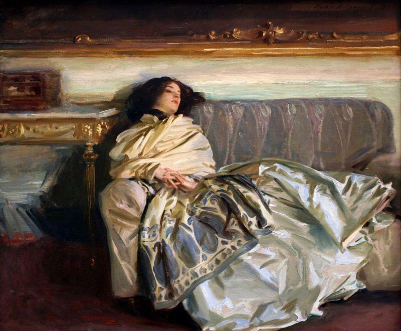 Nonchaloir (Repose), John Singer Sargent (1911)
