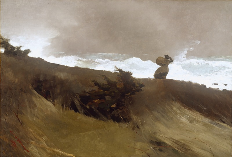 The West Wind, Winslow Homer (American, 1891)