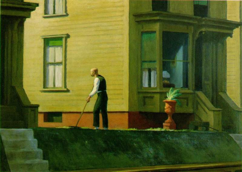 Pennsylvania Coal Town, Edward Hopper,  (American, 1947)