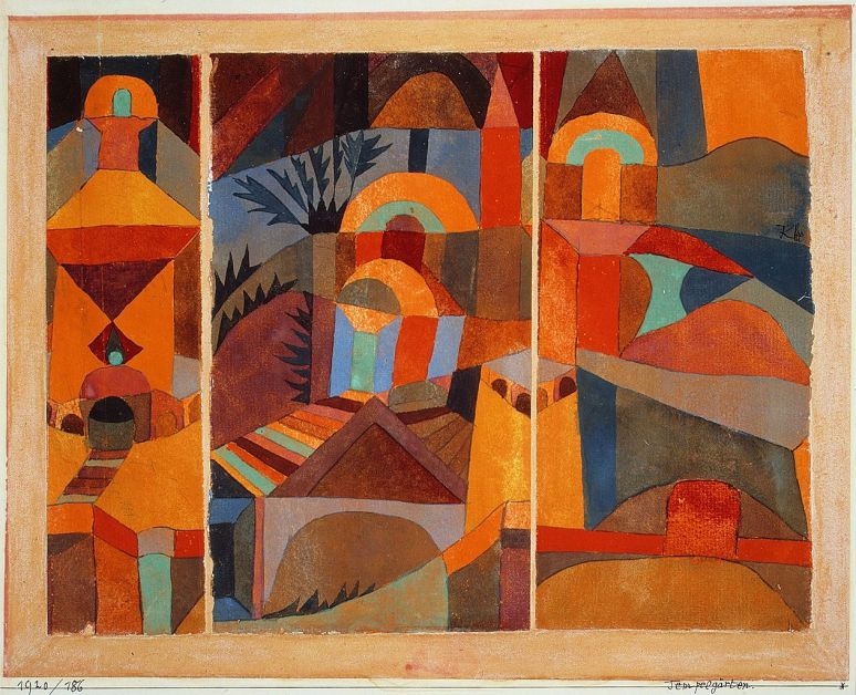 Temple Garden, Paul Klee (Swiss, 1920)