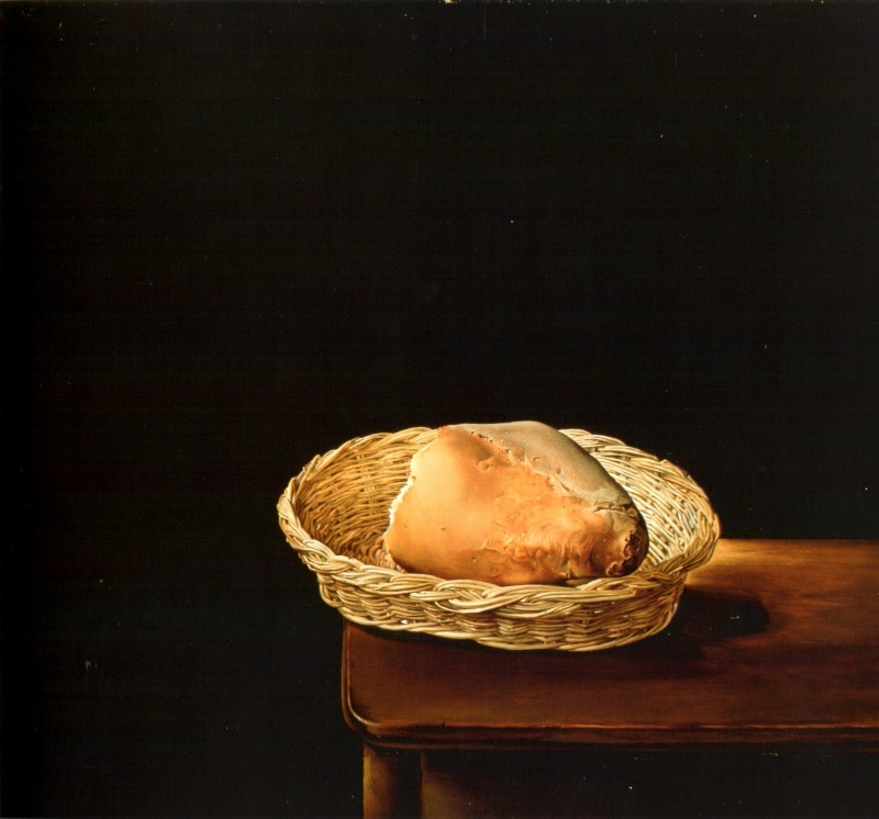 The Basket of Bread (Rather Death than Shame), Salvador Dali  (1945)