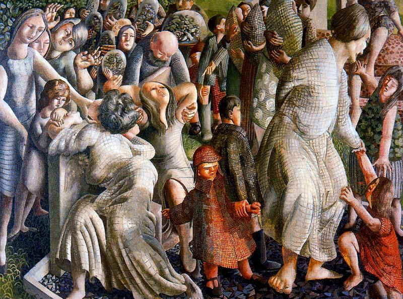 The Resurrection Reunion of Families, Stanley Spencer (1945)