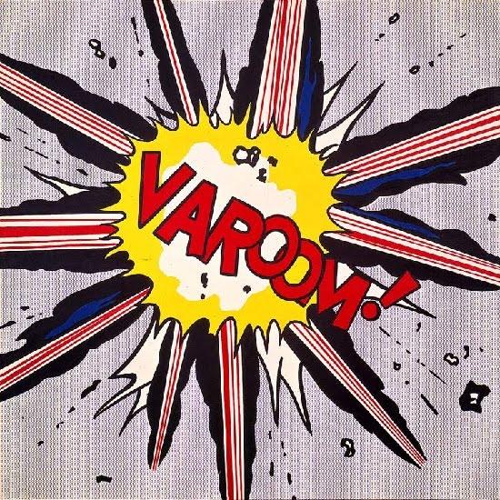 Varoom, Roy Lichtenstein (1963)