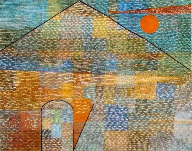 Ad Parnassum, Paul Klee (1932, Swiss)