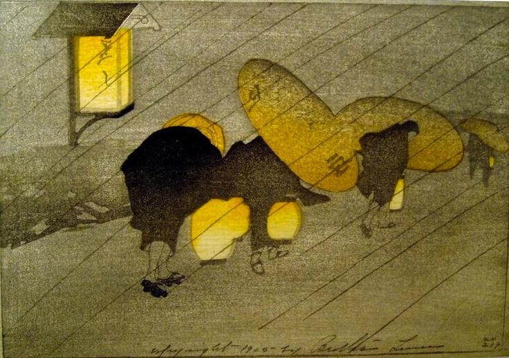 A Rainy Twilight, Bertha Boynton Lum (1905, American)