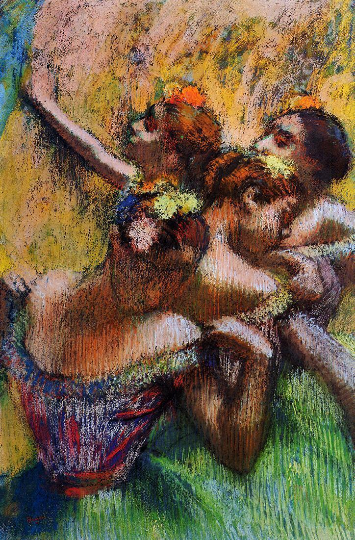 Four Dancers, Edgar Degas (1902, French)