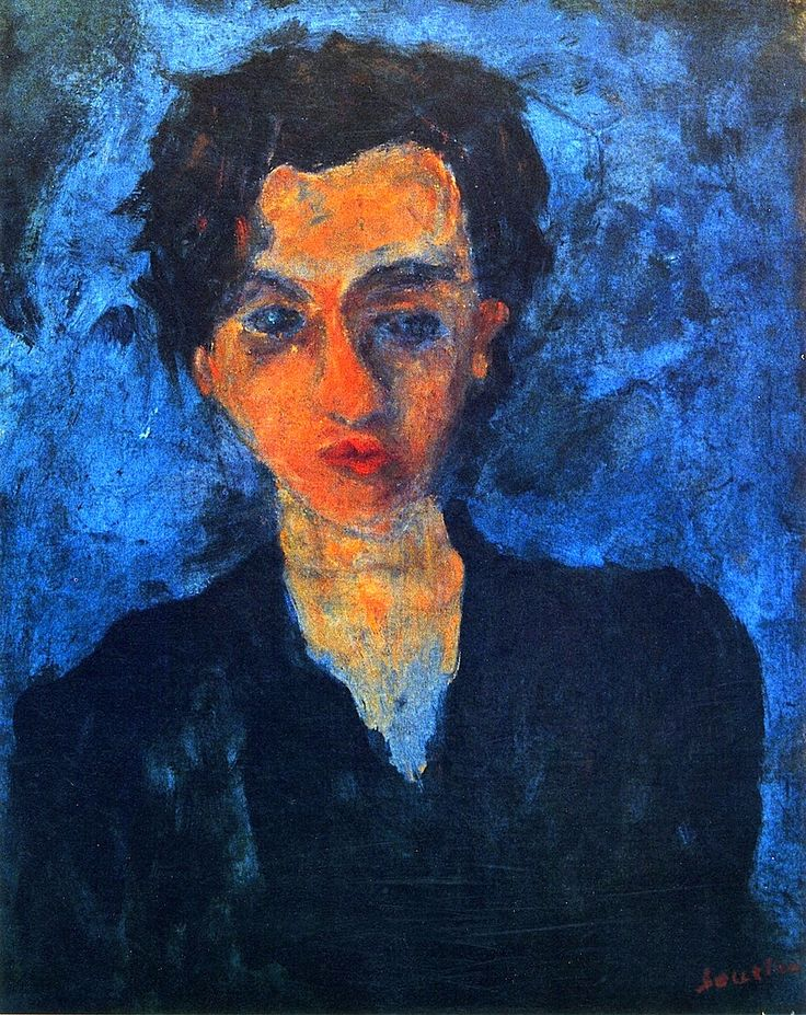 Portrait of a Young Woman, Chaim Soutine (c.1929, French)