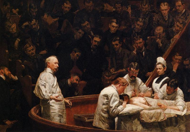 The Agnew Clinic,Thomas Eakins (1889, American)