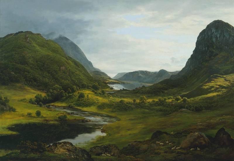 Thirlmere, John Glover (c.1820-30, Australia)