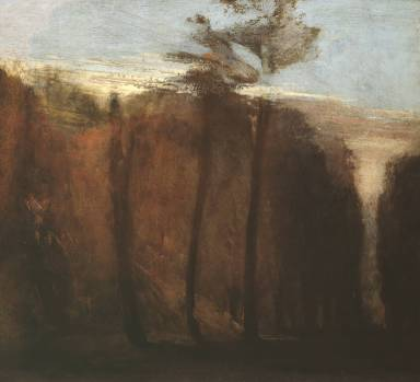 An Avenue of Trees ?circa 1822 by Joseph Mallord William Turner 1775-1851