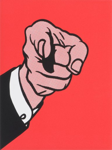 Finger Pointing, Roy Lichtenstein (1973, American)