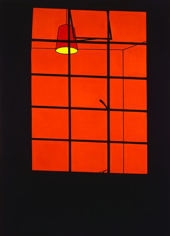 Lit Window, Patrick Caulfield (1969, British)