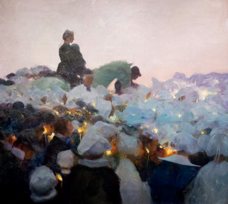 Pardon in Brittany, Gaston La Touche (French, 1896)