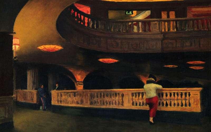 Sheridan Theatre, Edward Hopper (1937, American)