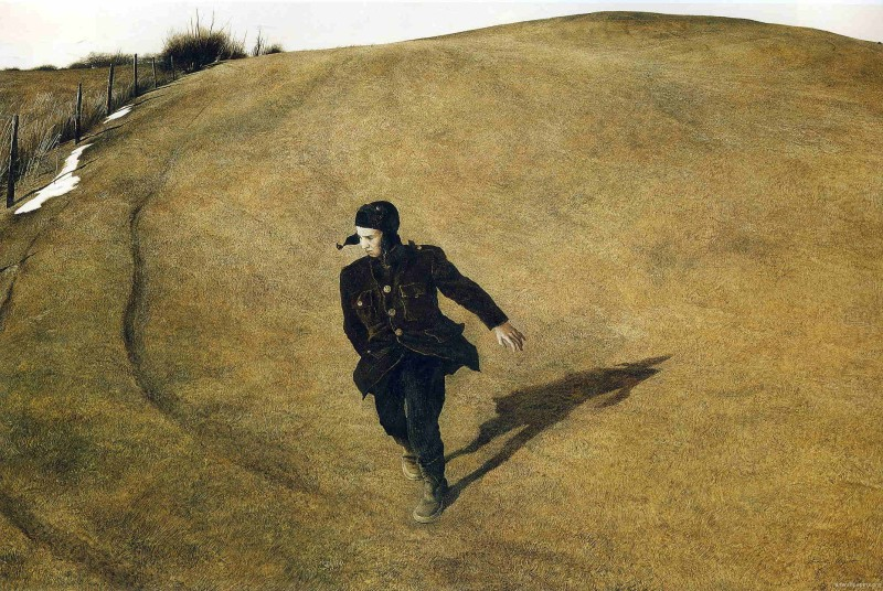 Winter, Andrew Wyeth (1946, American)