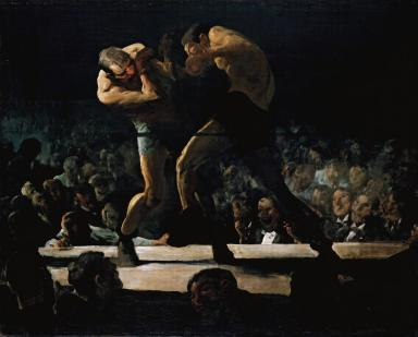 Club Night, George Bellows  (1907, American)
