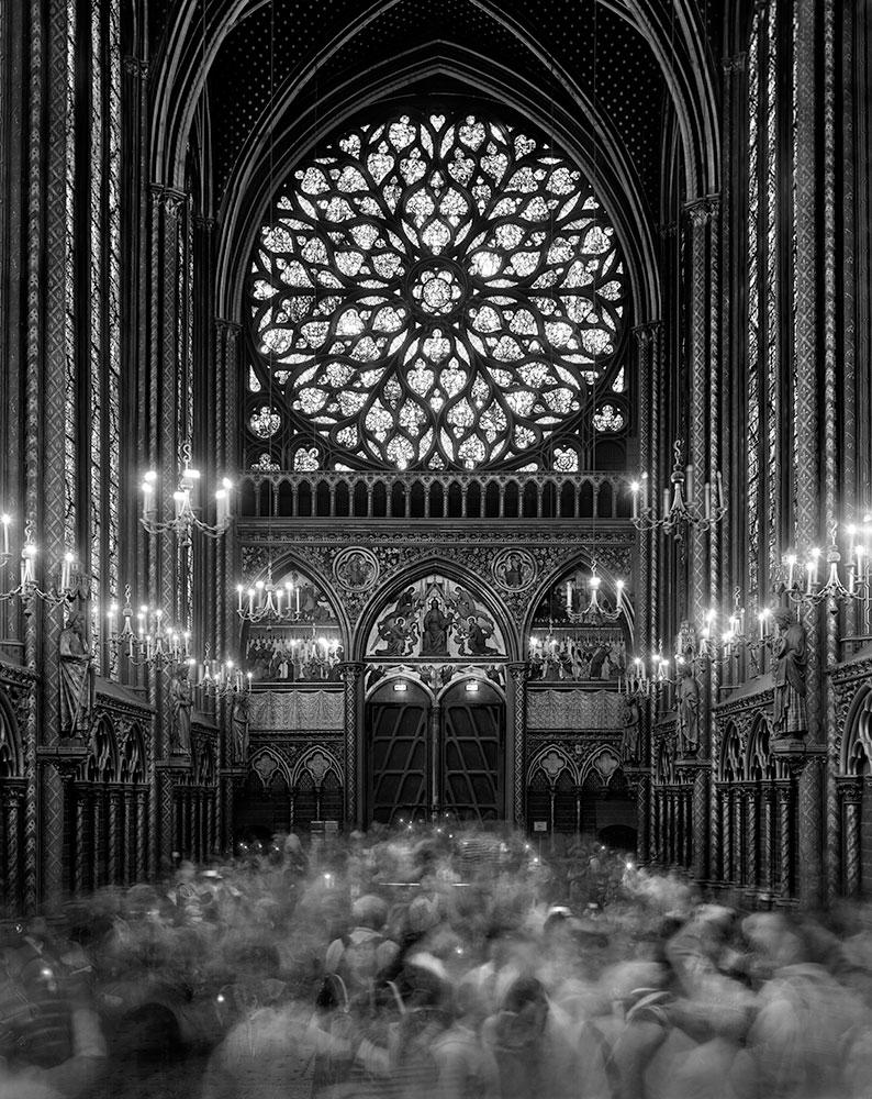La Sainte Chapelle, Matthew Pillsbury (2008, American)