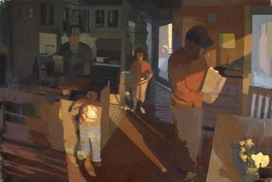 Family at Sundown, Susan Lichtman (2005, American)