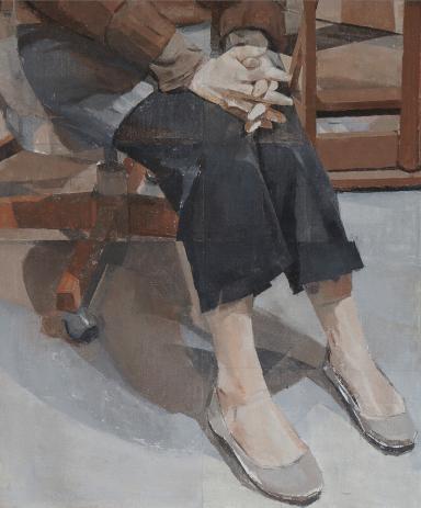 Figure in the Studio, Amy Huddleston (American)