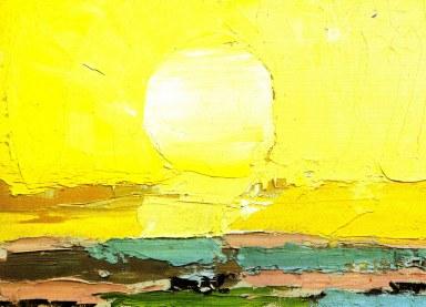 Le Soleil, Nicolas de Staël  (1952, French)