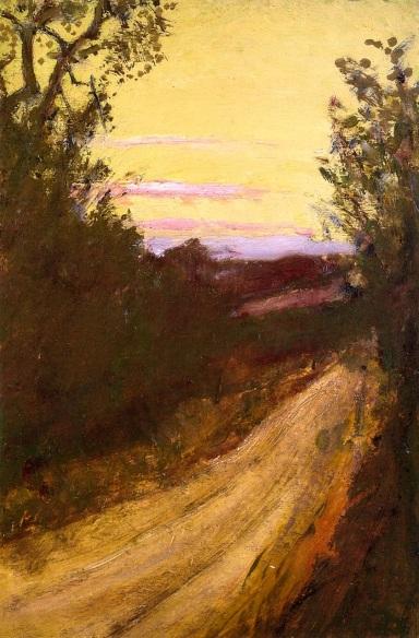 Sunset Road, Henry Prellwitz (c.1895, American)