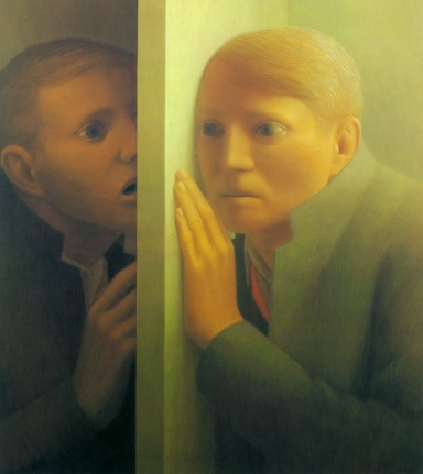 Voices I , George Tooker (1963, American)
