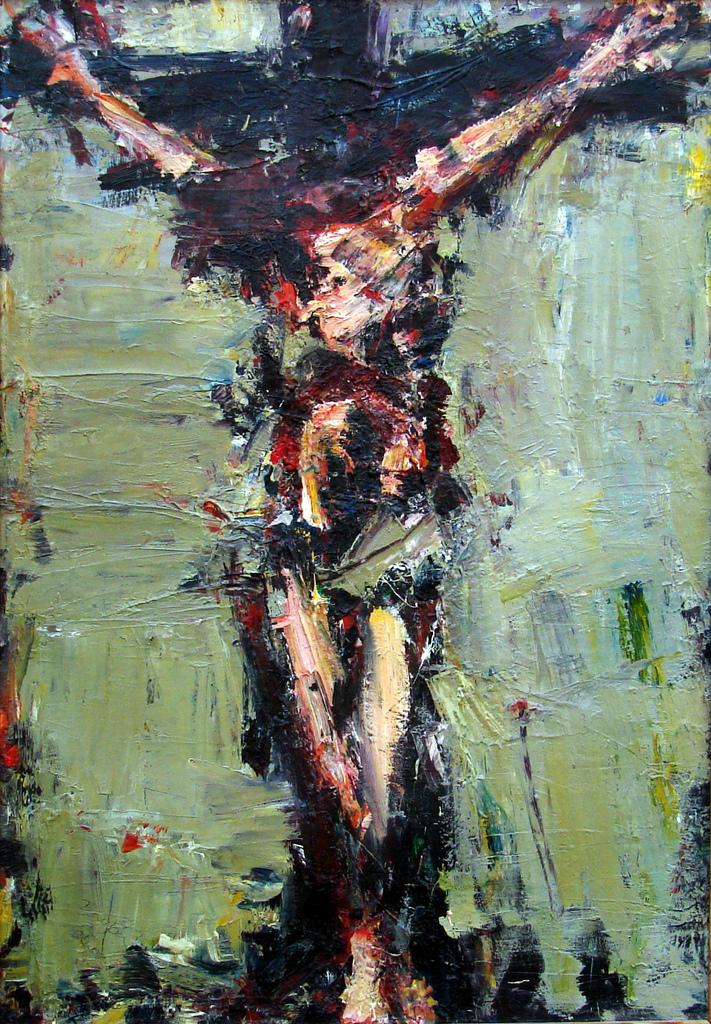 Crucifixion 1, Łukasz Morawski (2012, Polish)