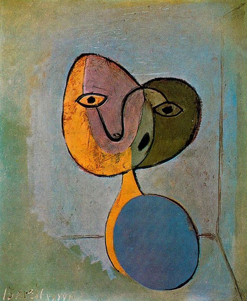Portrait of a Woman, Pablo Picasso (1936)
