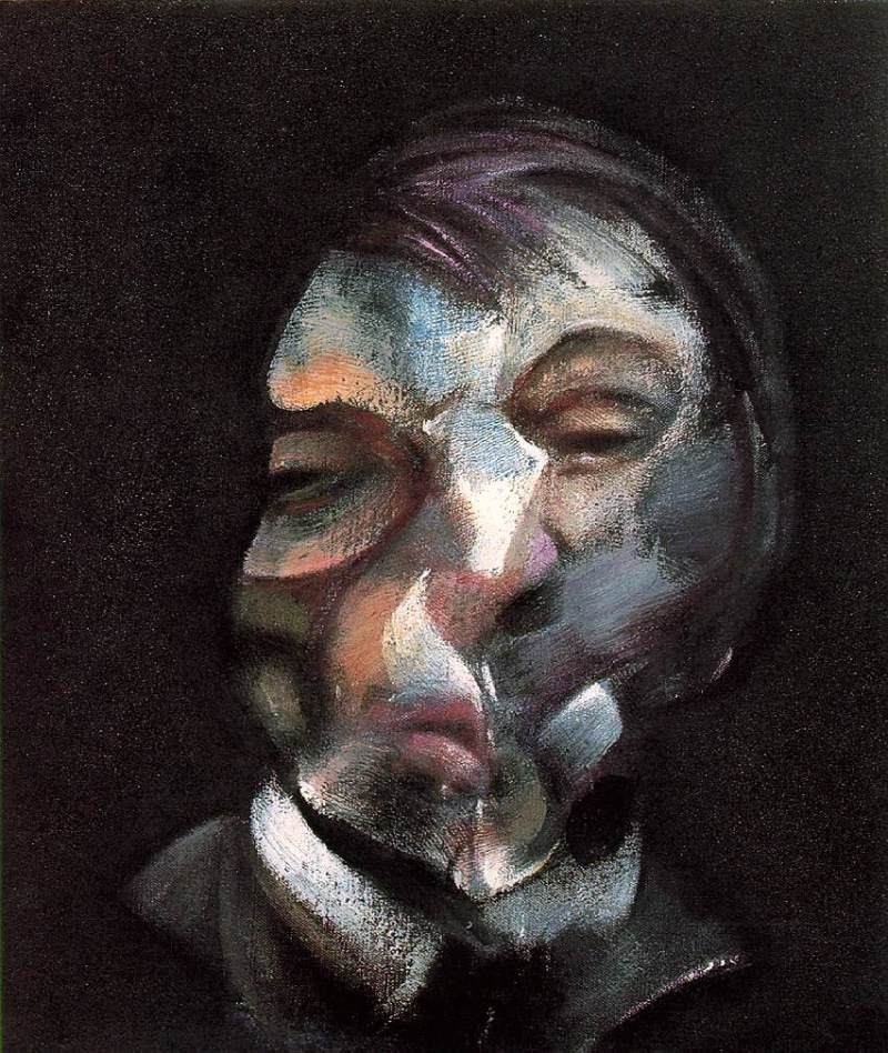 Self Portrait, Francis Bacon (Irish, 1971)
