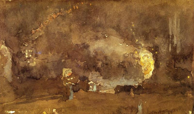 The Fire Wheel, James McNeill Whistler (1893, American)
