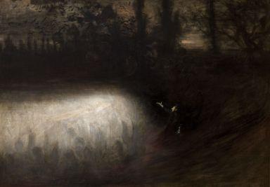 Chopin's Funeral March, Władysław Podkowiński (1894, Polish)