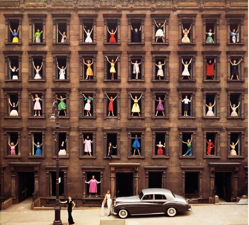 Girls in the Windows, Ormond Gigli (New York City, 1960)