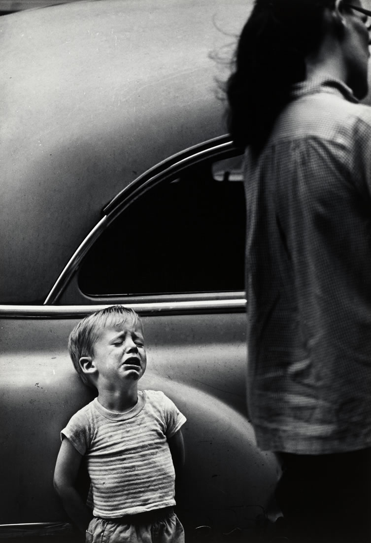 New York City, Dave Heath (1962, American)