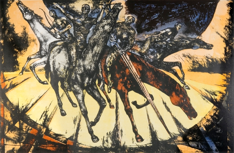 The Four Horsemen of the Apocalypse, Zechariah, Daniel O. Stolpe (2003)
