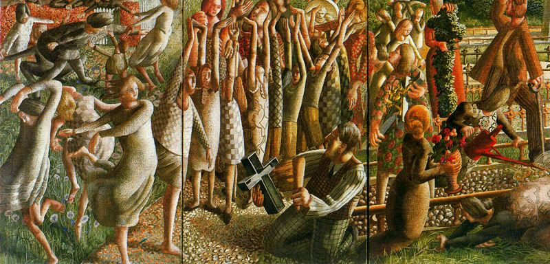 The Resurrection, Stanley Spencer (d. 1959, British)