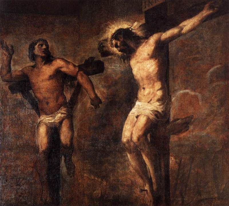 christ-and-the-good-thief-titian-1566-italian