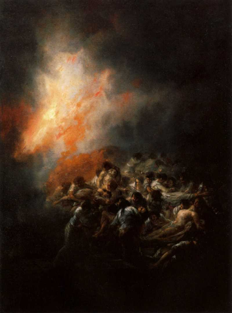 fire-at-night-francisco-goya-1794-spanish
