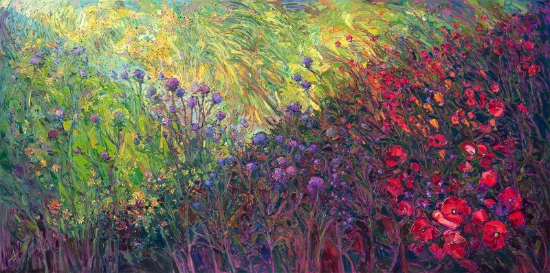 field-of-blooms-erin-hanson21st-century-american