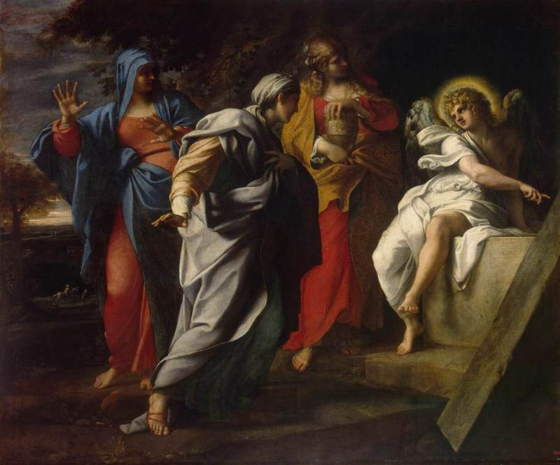 holy-women-at-the-tomb-of-christ-italian-annibale-carracci-c-1590